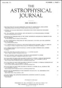 Astrophysical Journal