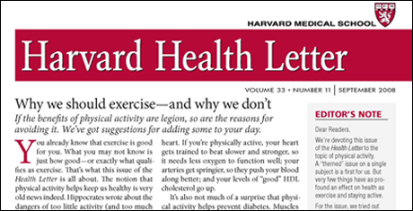 Harvard Health Publications, Harvard Medical School